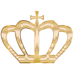 Gold Crown Silhouette 2 No Background