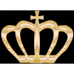 Gold Crown Silhouette