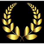 Gold Laurel Wreath 4