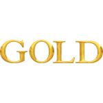 ''Gold'' typography
