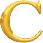 Gold C typography