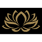 Golden Lotus Flower 4