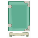 Green tome template