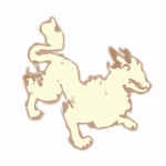 Ground Lion clipart