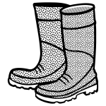 Rubber boots image
