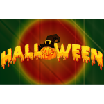 Halloween Typography With Background