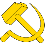 Hammer and sickle image