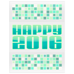 Happy 2016 Green