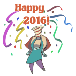 Happy 2016 Woman