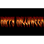 Happy Halloween Typography Enhanced