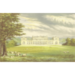Harewood House vector drawing