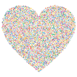 Heart Dots Prismatic