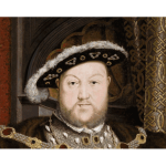 King Henry VIII vector illustration