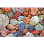 High Poly Colorful Stones