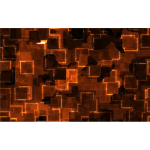 High Tech Magma Texture Background