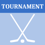 Vector graphics of hockey tournament icon