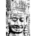 Face towers of the Bayon illustration
