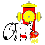 Hydrant and Dog