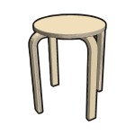 IKEA FROSTA Stool NATURAL