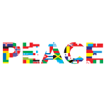International Peace Typography Mark II