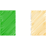 Ireland flag linear 2016082520