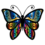 Iridescent Butterfly 4