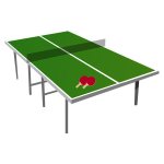 Isometric ping pong able