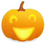 Yo Halloween pumpkin vector graphics