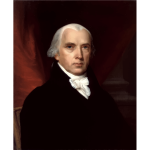James Madison Portrait 1816 By John Vanderlyn