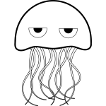 Jellyfish Coloring book