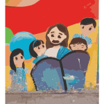 Jesus and Some Kids 2014111305