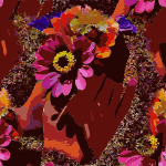 Jill Flowers Seamless Tile 2015082409