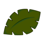 Vector image of leaf