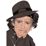 Keith Richards Portrait