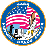 Kennedy Space Center logo vector image