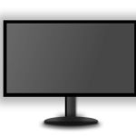 LED Monitor grey screen