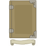 Light Brown tome template