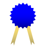 Winner ribbon