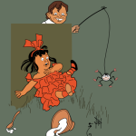 Little Miss Muffet - Denslow