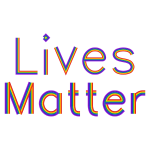 Lives Matter No Background