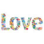 Love Heart Typography Redux 4