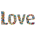 Love Heart Typography Redux 5