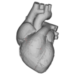 Low Poly 3D Heart