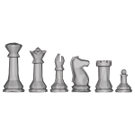 Low Poly Chess Pieces