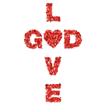 Low Poly Love GOD 3