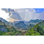 Low Poly Vietnam Valley