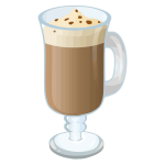 Hot chocolate vector drawing