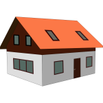 House vector file