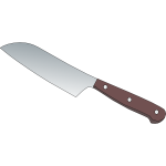 Knife vector graphics