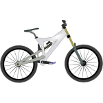 Bike vector graphics